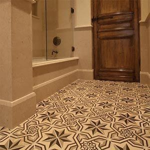 WWW.LUXURY STYLE.ES offer ANTIQUE DESIGN HAND PAINTED FLOOR TILES or WALL TILES traditional