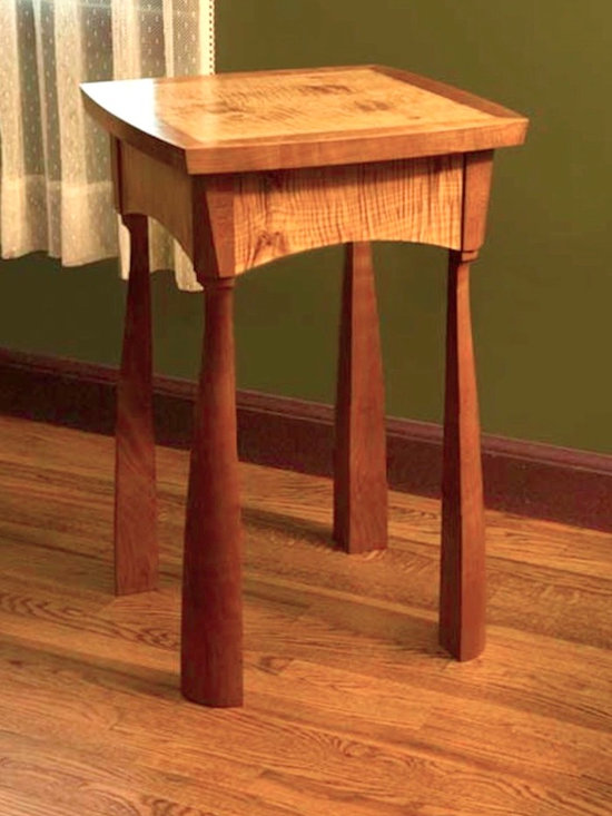 TIGER MAPLE END TABLE -