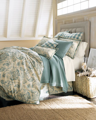 Peacock Alley Martinique Bed Linens Soprano King Sheet traditional-sheets