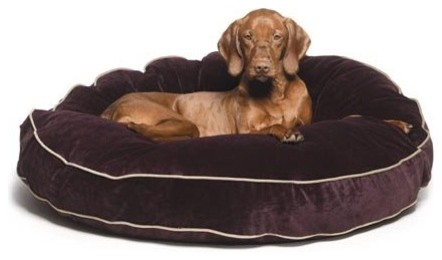 Bowsers Super Soft Round Dog Bed contemporary-pet-beds