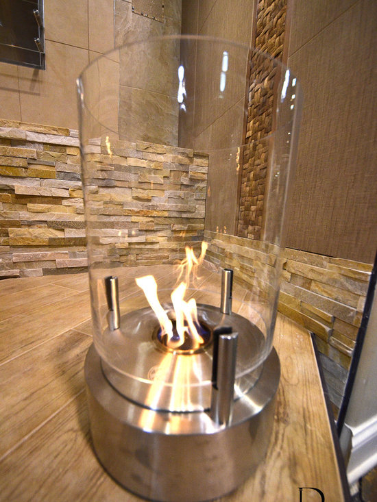 Eco-Smart Fireplace - Environmentally friendly indoor/outdoor fireplace