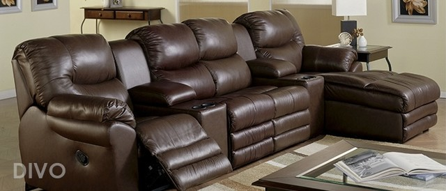Palliser Divo Home Theater Sofa Sectional contemporary sectional sofas houston
