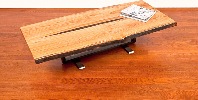 Black Cherry Coffee Table by Cherrywood Studio contemporary-coffee-tables