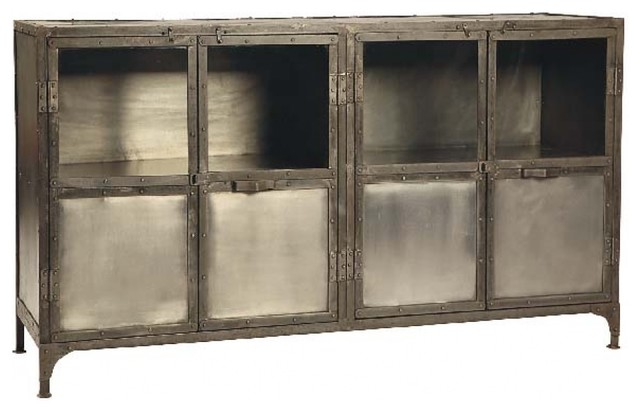 Koba Sideboard Industrial Buffets And Sideboards By Dovetail Furniture