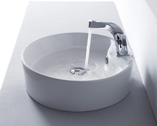 "Kraus KEF-15101CH Typhon Single Lever Basin Faucet - APPLY COUPON CODE ""EDHOUZ20"" AT CHECKOUT. JUST OUR WAY OF SAYING THANKS."