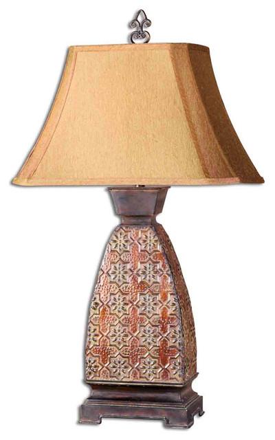 Uttermost 27586 Alvarez Metal Lamp contemporary-table-lamps