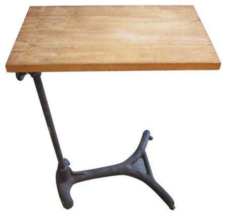 Sold Out Metal And Wood Adjustable Height Stand 750