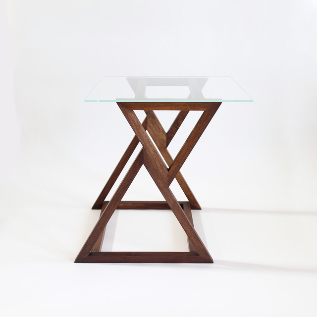 ... Triangle Accent Table Summer Triangle Side Table Modern Side Tables And  End Tables Other Metro By ...