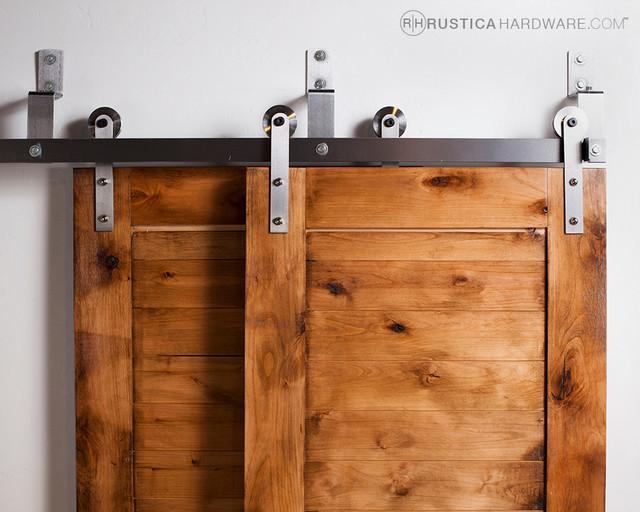 Bypass Barn Door Hardware (Standard) - Modern - Barn Door Hardware ...