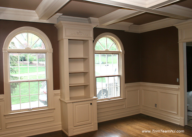 Galeria  Bookcases, Wall Unith, Built-Ins, Shelving traditional-living-room