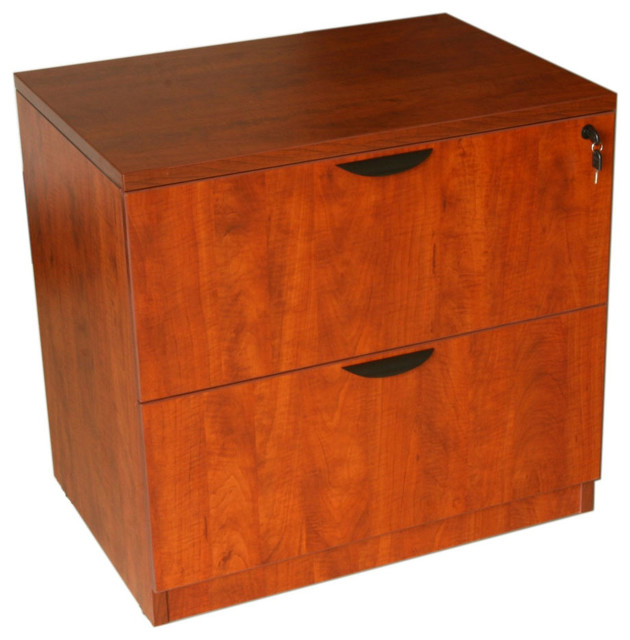 2-Drawer Lateral File - Cherry - Modern - Filing Cabinets ...