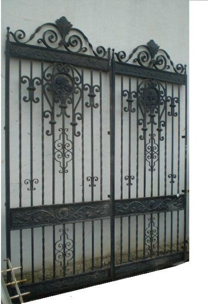 Iron Gate Old Iron Gate Antique Iron Gate Spanish Iron