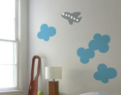 Blik Wall Decals: Cloud by Christy Flora eclectic-wall-decals