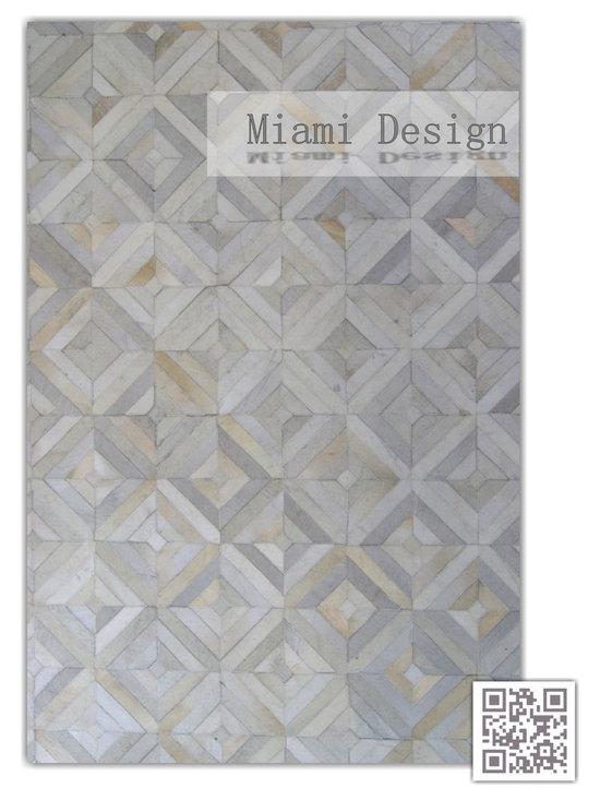 | Luxury Hide Patchwork Rugs - Kaymanta