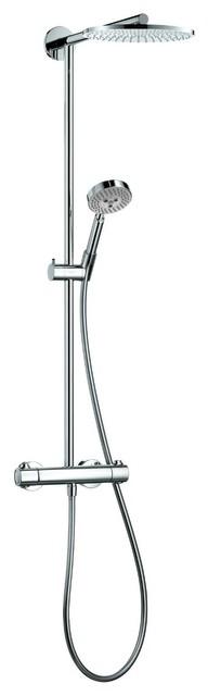 Hansgrohe Raindance S Showerpipe, Chrome modern-showerheads-and-body-sprays