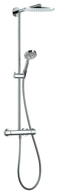 Hansgrohe Raindance S Showerpipe, Chrome modern showers