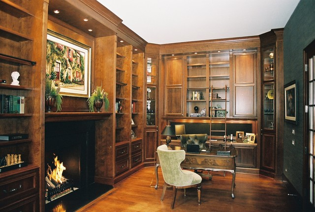 Barry Wachtel traditional-home-office