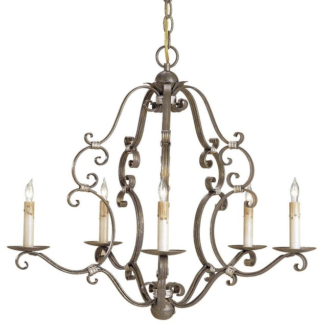 Currey & Co Montecristo Chandelier traditional-chandeliers