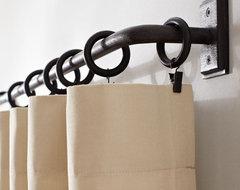 PB Essentials Drape Rod traditional-curtain-rods