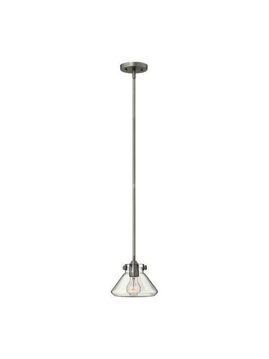 Hinkley Lighting 3136AN 1Lt. Mini-Pendant Congress Collection -