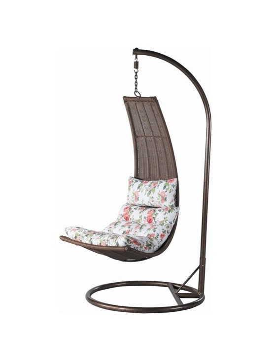 Horl Rattan Hanging Chair - Features: