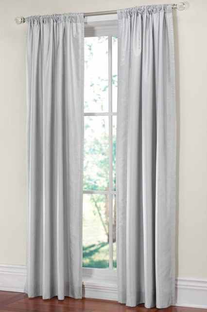 martha stewart living faux silk drapery panel traditional curtains