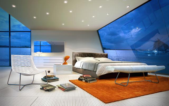 Madison Modern Bed modern-beds
