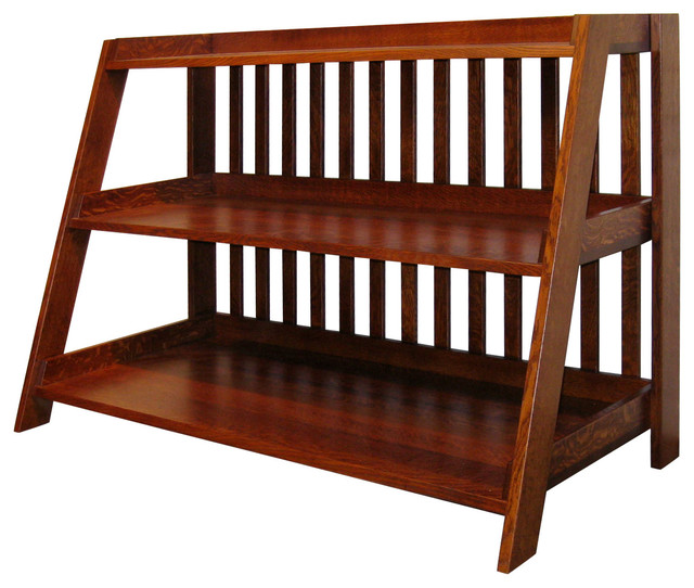 Bryson Mission TV Stand - Craftsman - Entertainment Centers And Tv Stands - other metro - by ...