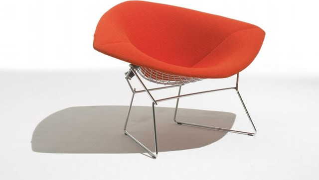 Bertoia diamond lounge chair with full cover modern chairs