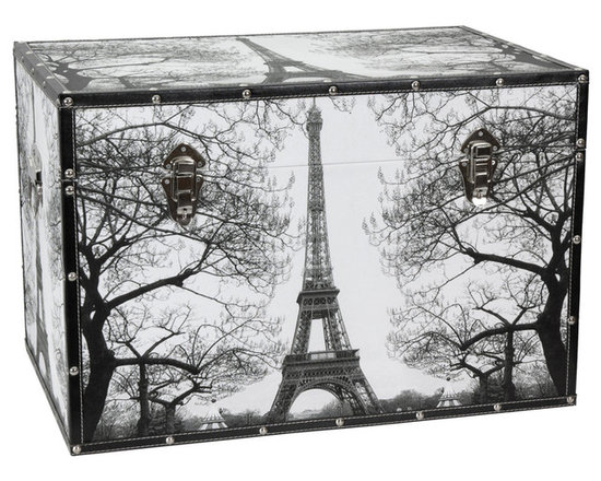 Art Print Decorative Storage Trunks -