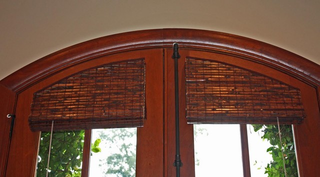 Arched And Semi Arched Door Window Covering Option Roman
