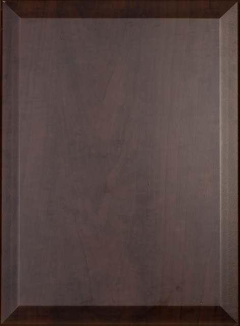 Chocolate Pear 100B Slab with Bevel  Kitchen Cabinetry  miami  by