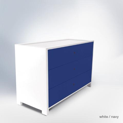 ducduc parker 3 drawer dresser modern-kids-dressers