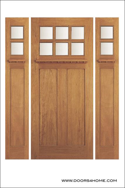 Arts crafts craftsman doors traditional front doors by doors4home for Arts and crafts exterior doors