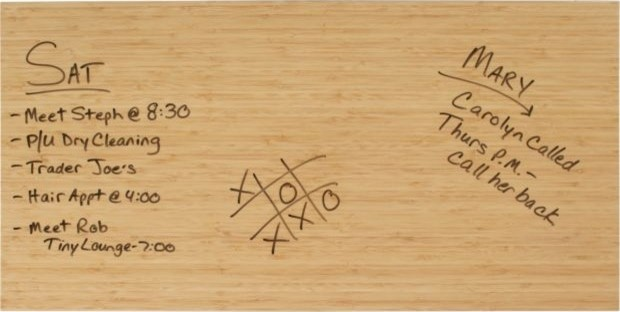 Bamboo Dry Erase modern-bulletin-boards-and-chalkboards