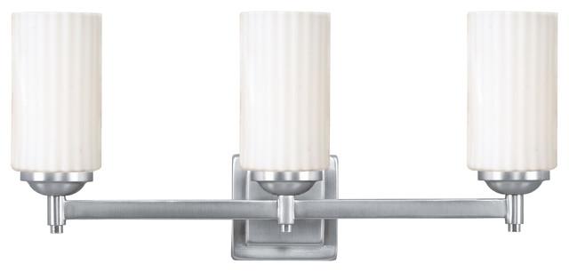 Livex Lighting 1423-91 Wall Light/Bathroom Light contemporary-bathroom-vanity-lighting