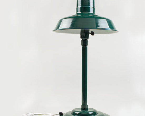 The Original™ Retro Desk Lamp - Our hand-crafted Original Retro Desk Lamp features the iconic barn shade and weighted table mount. Make this industrial style table lamp the finishing touch to your office!