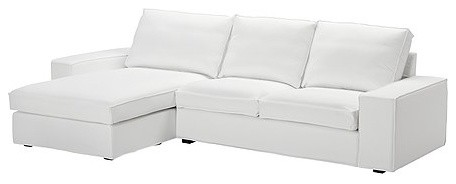 Kivik Loveseat and Chaise Lounge contemporary love seats