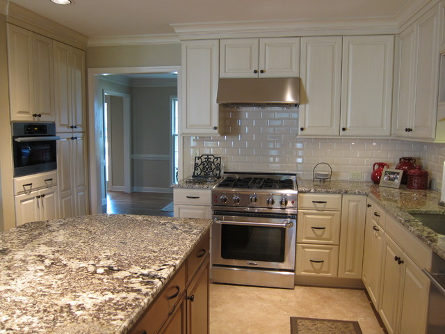 Kitchen with Coffee Area - Traditional - Kitchen - other ...
