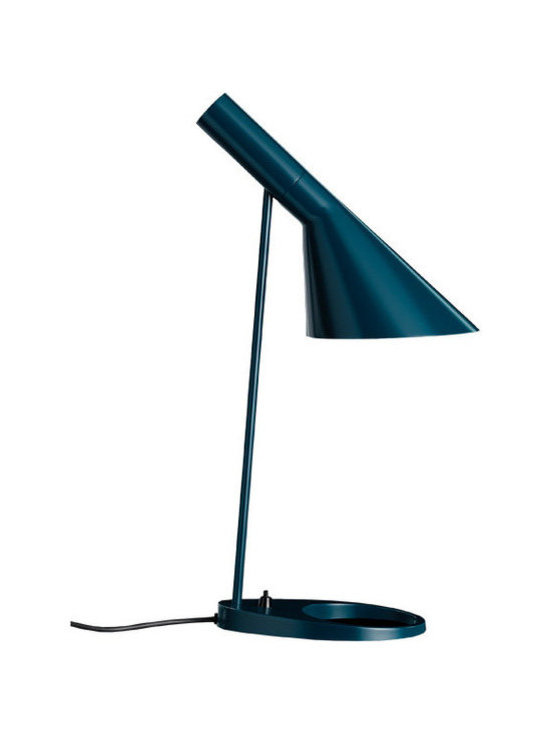 AJ Table Lamp - Petroleum