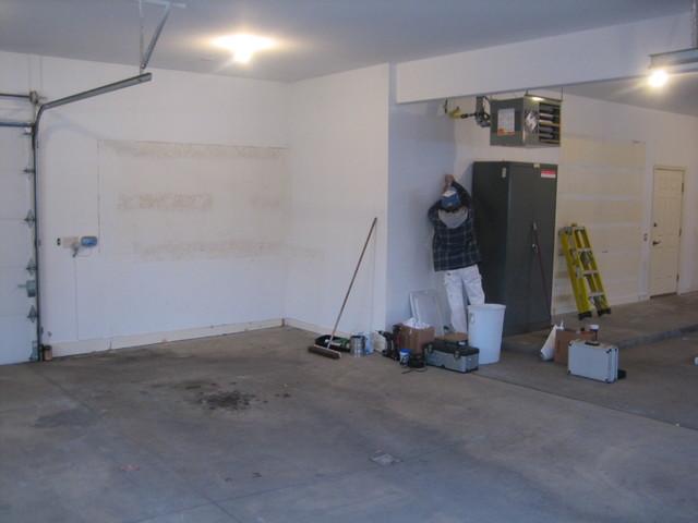 Delp garage makeover contemporary