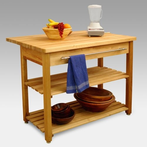 Contemporary Harvest Table Drop Leaf Kitchen Island Traditional Kitchen Islands And Kitchen