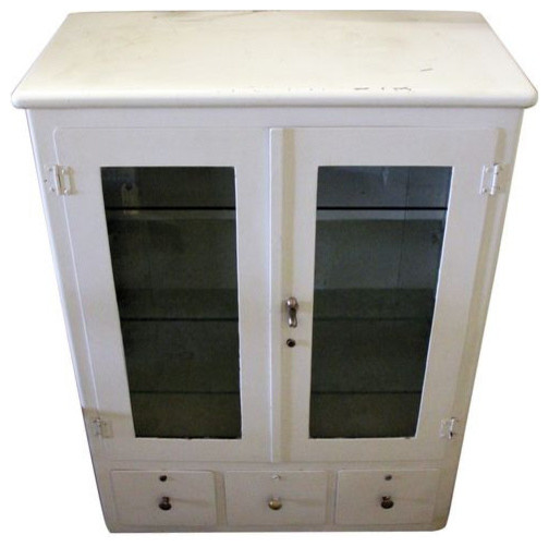 *SOLD* Retro Medical Display Cabinet - $1,800 Est. Retail - $600 on Chairish.co