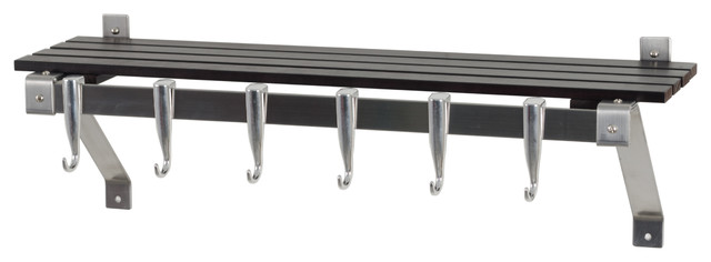 Innovative 30 Quot Stainless Steel Track Wall Kitchen Rack