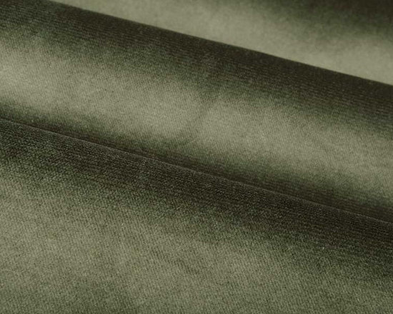 Lush Upholstery Fabric in Sage - Lush in Sage is a dark green upholstery fabric that is a soft, yet durable velvet with an irresistible texture. A small scale ribbing effect adds the perfect amount of detail. Ideal for upholstering sofas, chairs, or bedding and pillows. Available in a variety of current colors. Made from 100% Polyester. Fire Rating UFAC Class 1. Cal Tech Bulletin #117, SEC.E. 100,000 double rubs. 54″ wide. Additional yardage may be purchased on back-order.