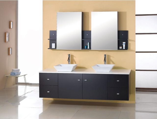 mirrored cabinets contemporary bathroom sinks and vanities our Hourly