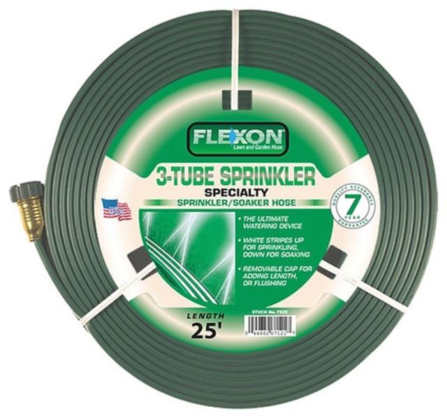 Flexon 3 Tube Sprinkler Garden Hose Modern Irrigation