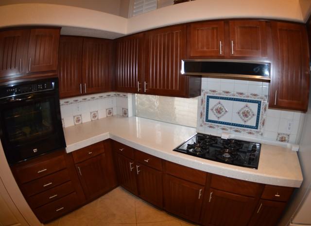 kitchen cabinets refaced by westside restoration traditional kitchen