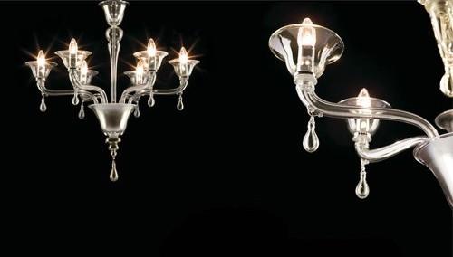 Agata 6 Light Chandelier modern-chandeliers