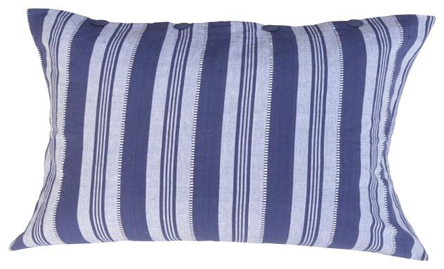 Nautical Blue Stripe Sham traditional-pillowcases-and-shams